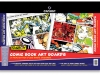 comic book art boards