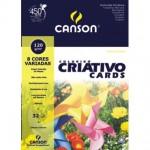 Papel Colorido Canson Criativo Cards