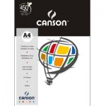 Papel Colorido Canson A4 120g/m² 15 Folhas Branco