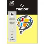 Papel Colorido Canson A4 120g/m² 15 Folhas Amarelo Canário