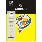 Papel Colorido Canson A4 120g/m² 15 Folhas Amarelo