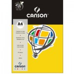 Papel Colorido Canson A4 120g/m² 15 Folhas Cenoura