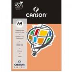 Papel Colorido Canson A4 120g/m² 15 Folhas Pêssego