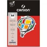 Papel Colorido Canson A4 120g/m² 15 Folhas Vermelho