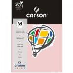 Papel Colorido Canson A4 120g/m² 15 Folhas Rosa Claro