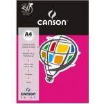 Papel Colorido Canson A4 120g/m² 15 Folhas Rosa Escuro