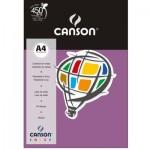 Papel Colorido Canson A4 120g/m² 15 Folhas Lilás