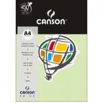 Papel Colorido Canson A4 120g/m² 15 Folhas Verde Água
