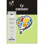 Papel Colorido Canson A4 120g/m² 15 Folhas Verde Claro