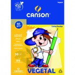 Bloco de Papel Vegetal Escolar Canson