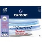 Bloco de Papel Montval Canson TORCHON 270g/m² A4+