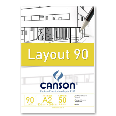 Papel Sulfite A2 90g Canson