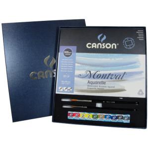 Kit Para Aquarela Montval Canson