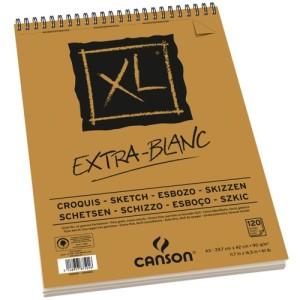 bloco desenho XL extra blanc A3
