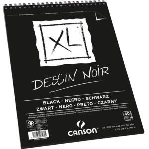bloco papel negro XL A3