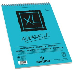 bloco para aquarela XL Aquarelle A4