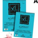 Bloco de Papel Para Aquarela A5 Canson XL Aquarelle