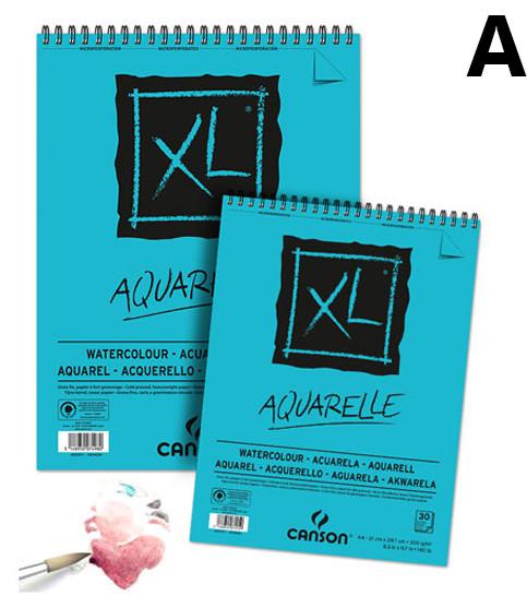 aquarelle a5 canson aquarela bloco papel sinoart