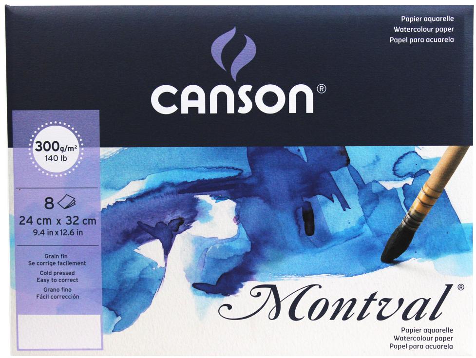 papel pochette montval canson 300g 24x32