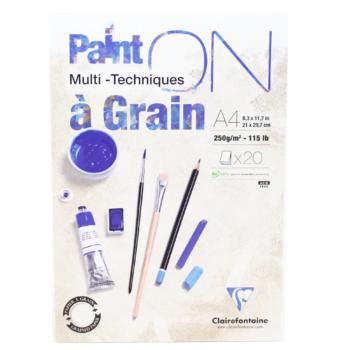 Papel Multi Técnicas Clairefontaine