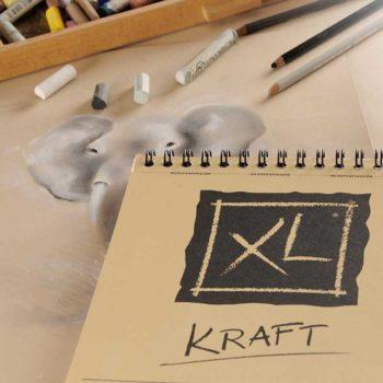 Bloco de Desenho Kraft Canson